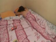 Пока муж спал жена трахалась